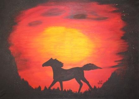 Horse_in_the_Sun